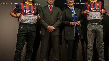 Prezentacja nowych koszulek FC Barcelony