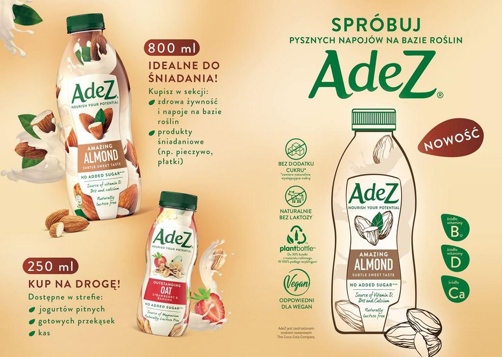 Nowość! AdeZ - zdrowe i smaczne napoje na bazie ekstraktów roślinnych i soków owocowych