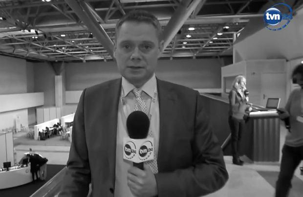 Smutne wieści ze świata mediów. Nie żyje dziennikarz TVN24 Rafał Poniatowski. W wzruszających słowach żegnają go koledzy po fachu.