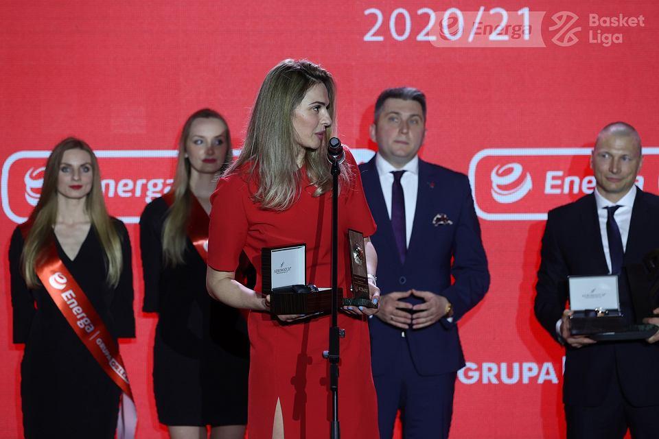 Maj 2021 r. Uroczysta gala zakończenia sezonu 2020/21 Energa Basket Ligi i Energa Basket Ligi Kobiet