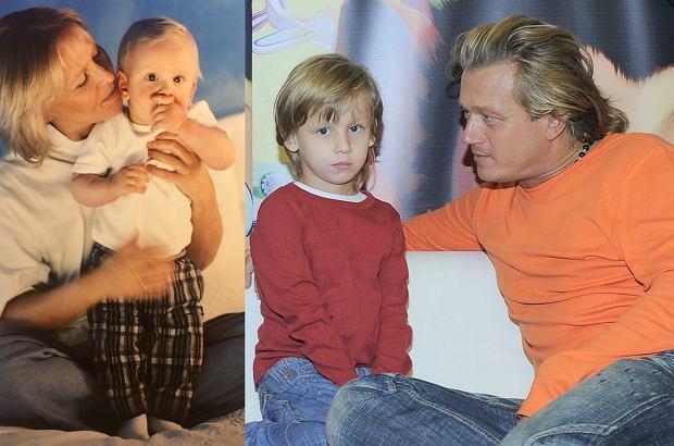 Zdjęcie numer 3 w galerii - Jarosław Jakimowicz dawno nie pokazywał syna. Zapamiętaliśmy go jako dziecko, a ma już 16 lat! Podobny?