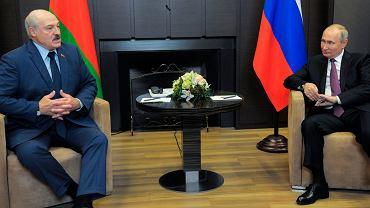 Spotkanie Putin-Łukaszenka
