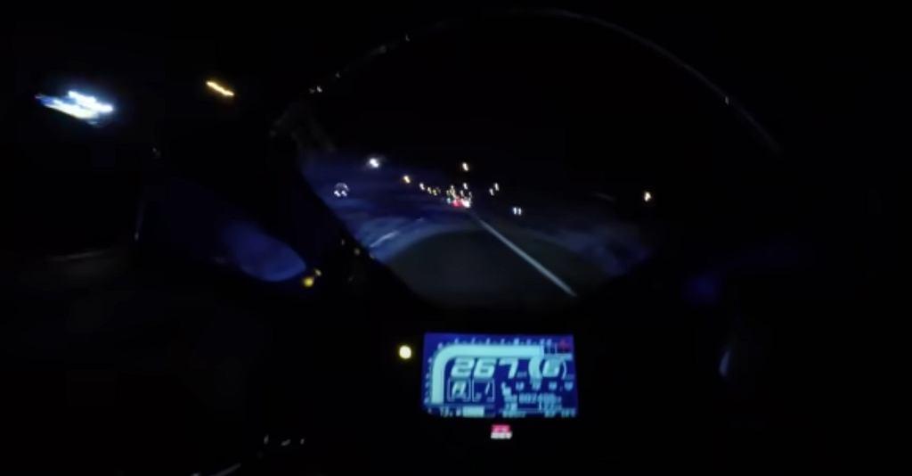 Australia. Mężczyzna jechał 267 km/h motocyklem