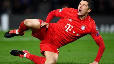 Liga Mistrzów - Robert Lewandowski w meczu Chelsea vs. Bayern. Stamford Bridge, 25 lutego 2020