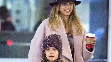Jessica Alba z córką Honor
