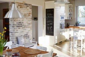 Między Kuchnią A Jadalnią Budowa Projektowanie I Remont