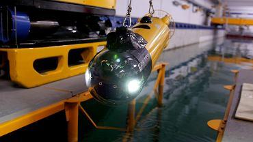 Podwodny dron Głuptak z Politechniki Gdańskiej