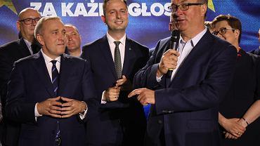 Grzegorz Schetyna, Władysław Kosiniak-Kamysz, Włodzimierz Czarzasty