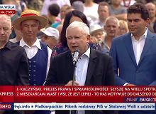 Kaczyński na Podkarpaciu: Chcą się wedrzeć do naszych rodzin