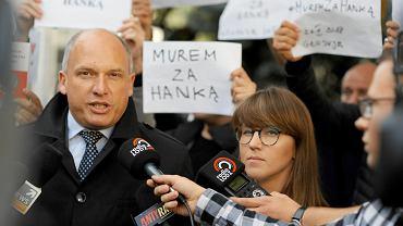 Łukasz Magin (z lewej)