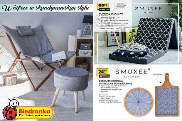 Biedronka - meble i dodatki w skandynawskim stylu