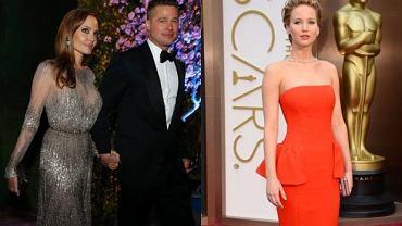 Angelina Jolie i Brad Pitt, Jennifer Lawrence