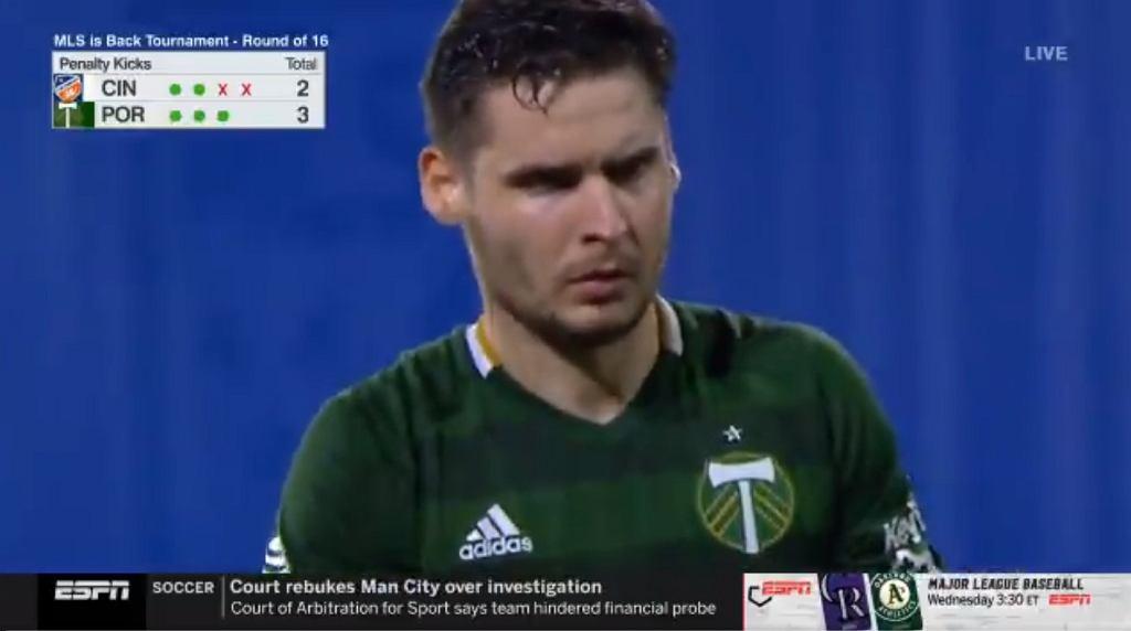 Jarosław Niezgoda strzelił gola dla Portland Timbers