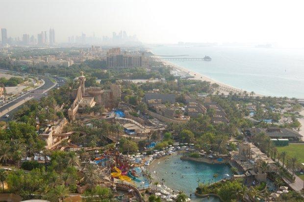 Widok na aquapark Wild Wadi/ Fot. Shutterstock