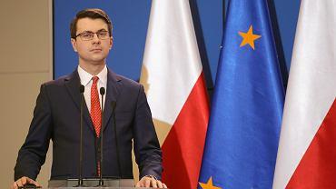 Rzecznik rządu Piotr Muller