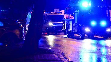 Łódź. Tragiczny wypadek (policja - zdjęcie ilustracyjne)