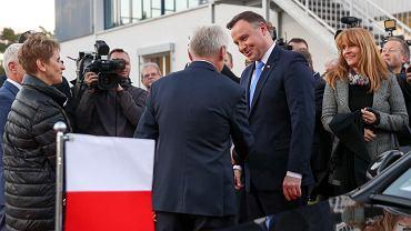 Prezydent Andrzej Duda z wizytą w TZMO Deutschland
