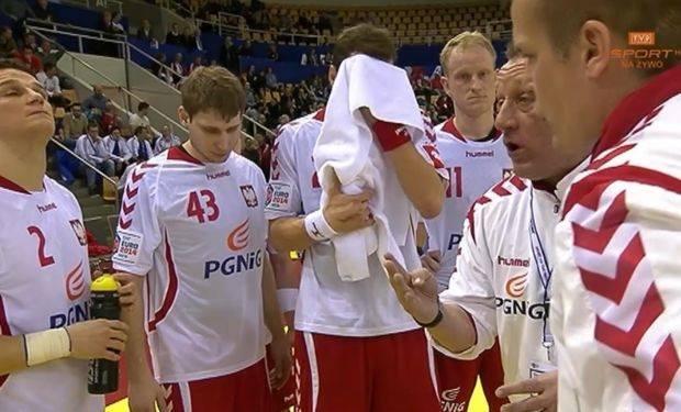 Reprezentacja Polski z trenerem Michaelem Bieglerem