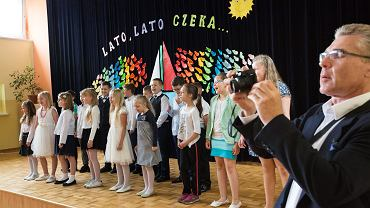 23.06.2017, Poznań, zakończenie roku szkolnego w Szkole Podstawowej nr 82