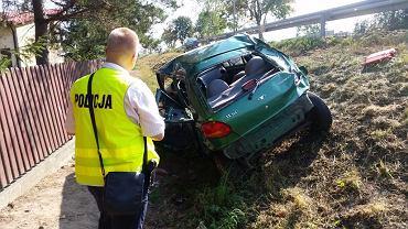 Wypadek w miejscowości Kamionka