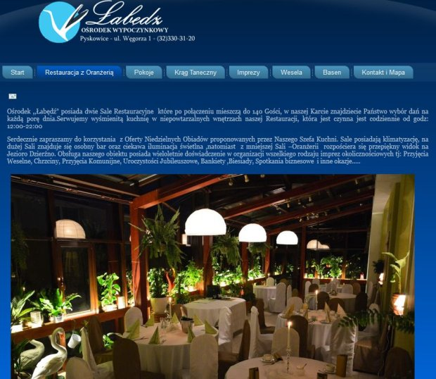 Screen z Labedz.info