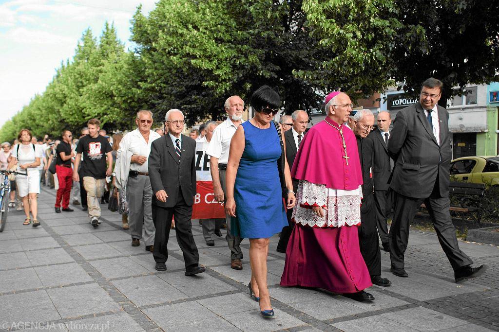 Poseł PiS Szymon Giżyński i abp Wacław Depo w Częstochowie