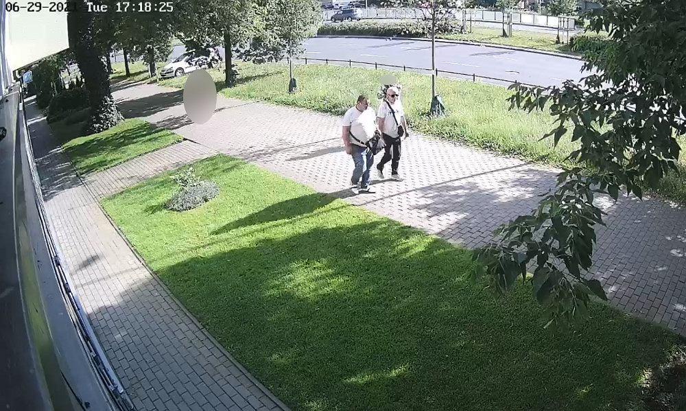 Mężczyźni podejrzewani o kradzież sprzętu medycznego