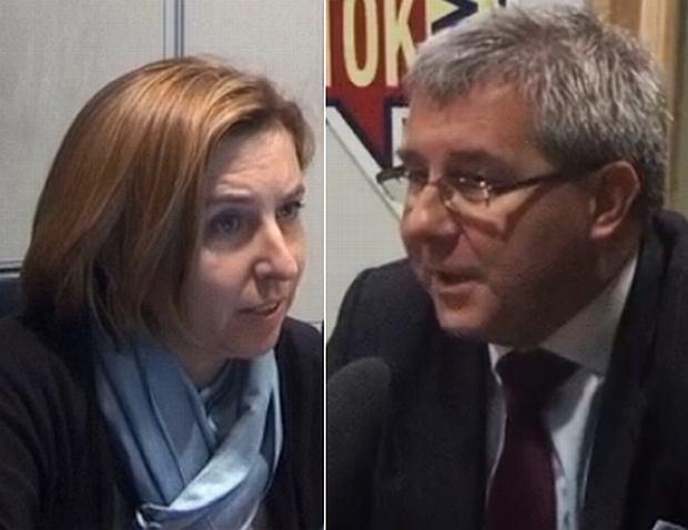 Dominika Wielowieyska i Ryszard Czarnecki w