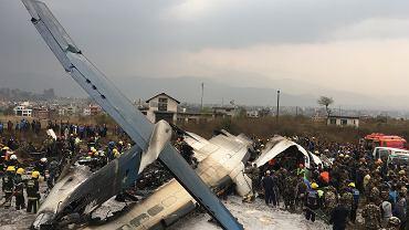 Nepal. Katastrofa samolotu w Katmandu