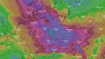 Pogoda na dziś - poniedziałek 30 września. IMGW ostrzega przed silnym wiatrem.