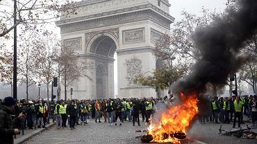 Sobotnie protesty antyrządowe w Paryżu