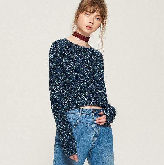 Sweter cropped