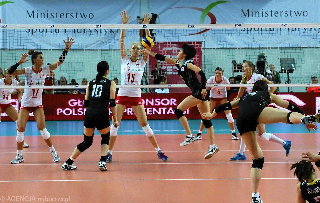 Płock, World Grand Prix w siatkówce kobiet. Polska - Japonia 0:3