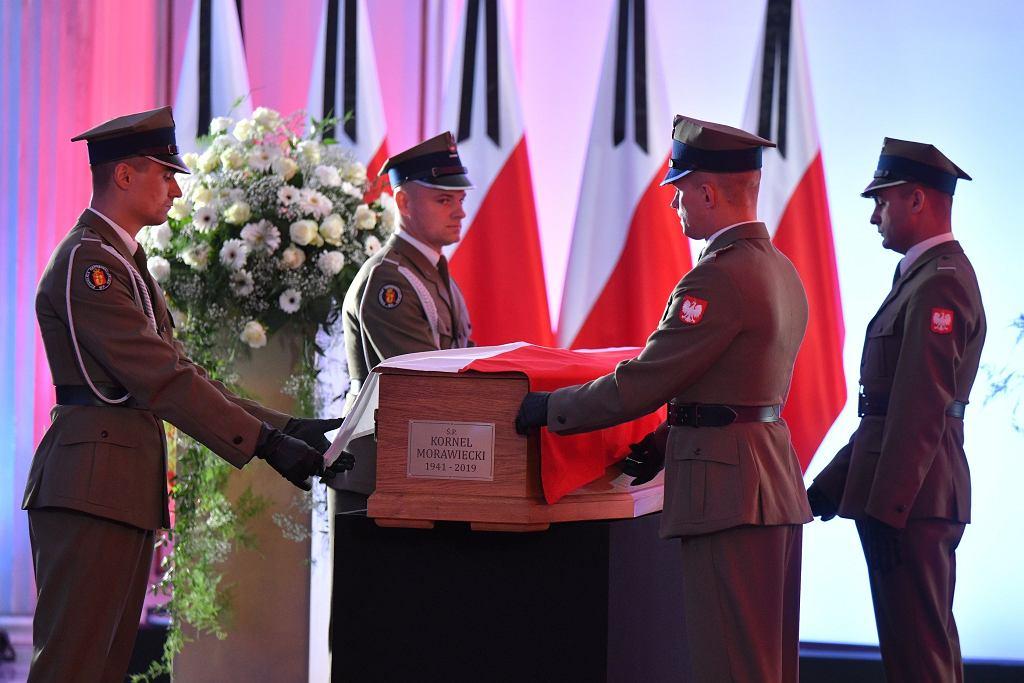 Pożegnanie Kornela Morawieckiego w Sejmie