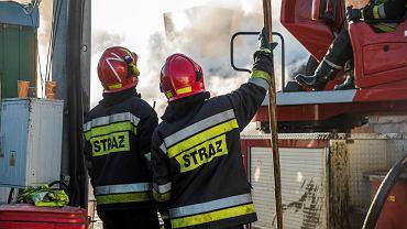 Pożar(zdjęcie ilustracyjne)