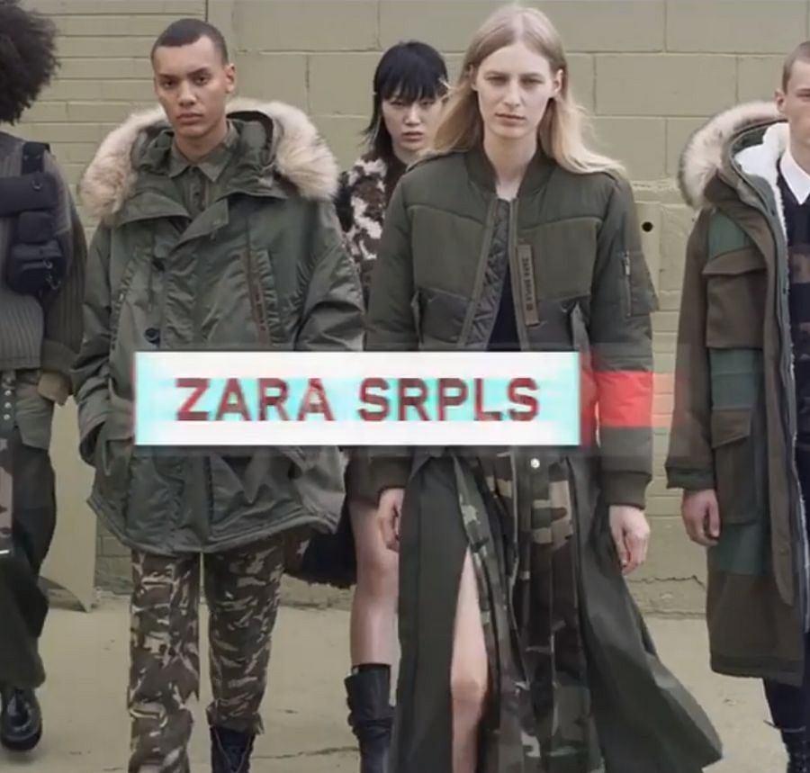 Nowa kolekcja Zara jesień-zima 2019/2020. Co się kryje pod tajemniczą nazwą SRPLS? Inspiracja wojskowym stylem