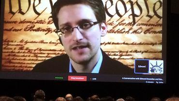 Edward Snowden na festiwalu SXSW