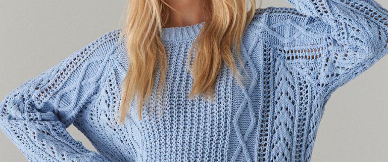 Modne swetry z polskich sieciówek. Kolory pasujące do każdego typu urody!