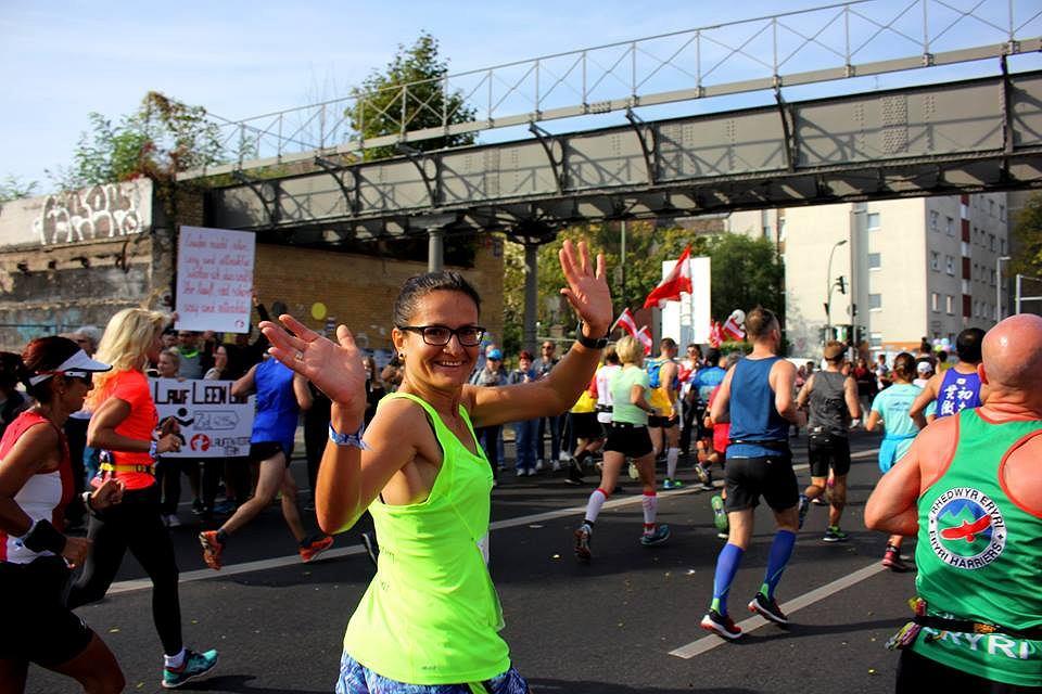 Małgorzata Banaś, zwyciężczyni wyjazdu na BMW Berlin Maraton w ramach Spiropharm Marathon Project