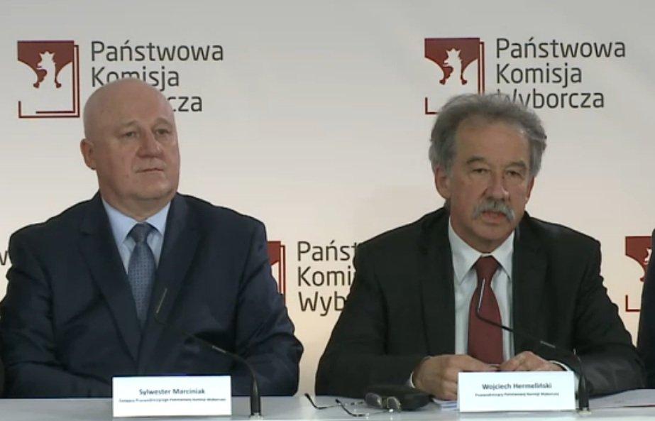 Przewodniczący PKW, sędzia Wojciech Hermeliński