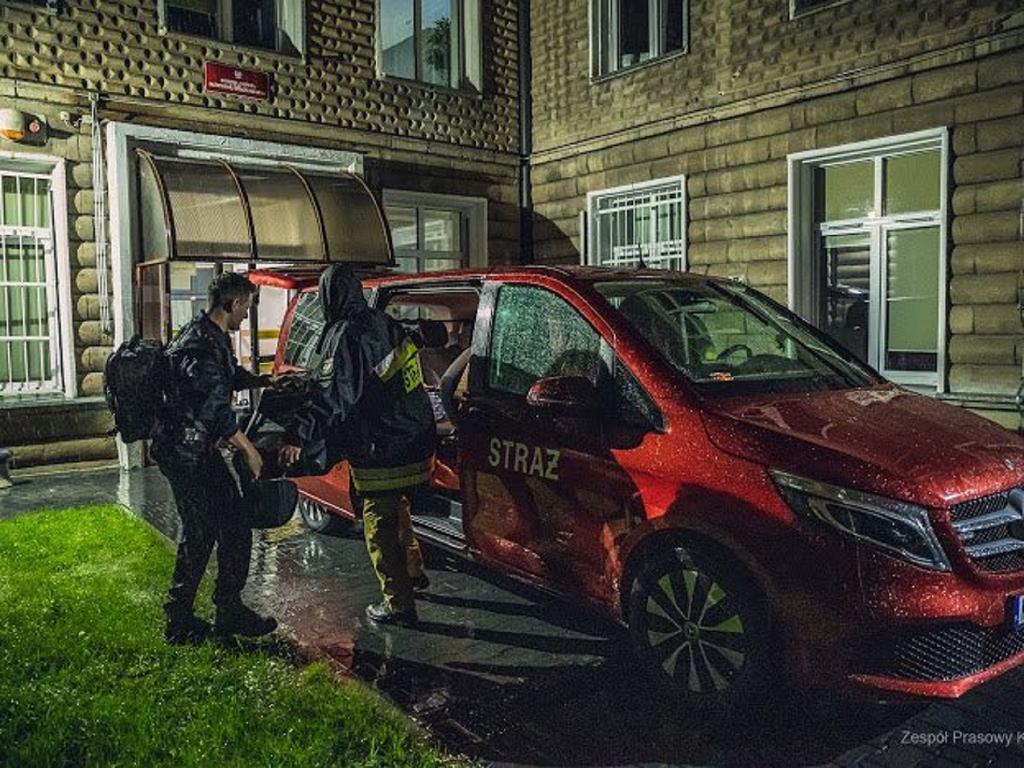 Strażacy wyruszyli w piątek do Turcji