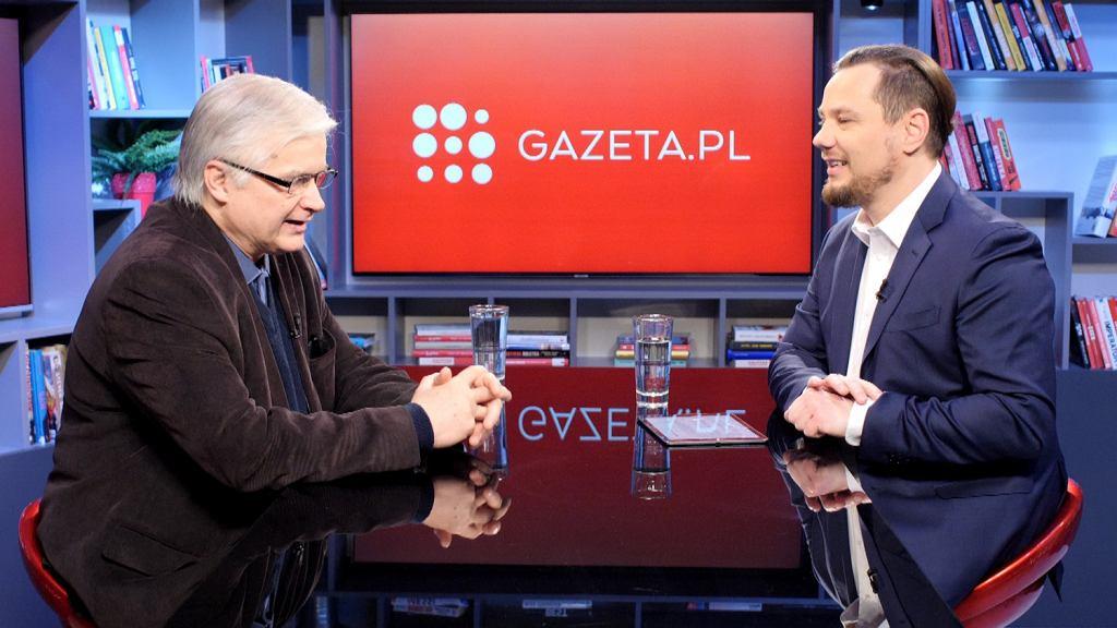 Włodzimierz Cimoszewicz gościem porannej rozmowy Gazeta.pl