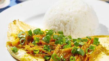 Sola w sosie kokosowym