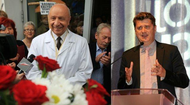 prof. Chazan / Janusz Palikot