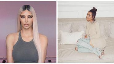 Coraz węższa talia i jeszcze większe pośladki. Co się dzieje z Kim Kardashian?