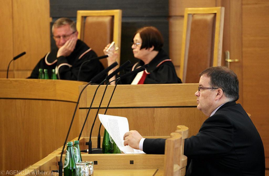 Trybunal Konstytucyjny podczas posiedzenia ws. zwiazaków zawodowych