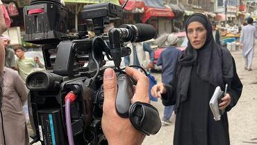 Clarissa Ward relacjonuje sytuacje w Afganistanie