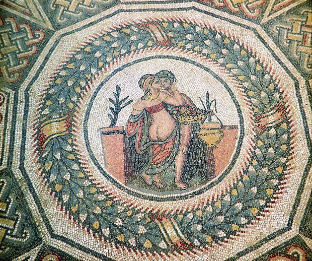 Antyczne mozaiki z Villa Romana del Casale