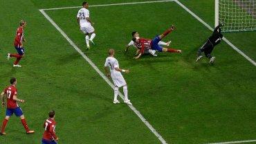 Gol dla Atletico Madryt w finale Ligi Mistrzów