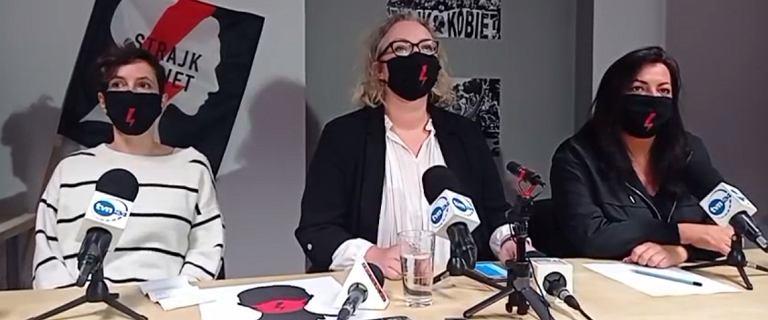 """Strajk Kobiet rekomenduje postulaty. """"Oświadczenie Przyłębskiej to nie wyrok TK"""""""